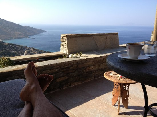 "Aegean Castle : Ο καφές στο μπαλκόνι του ""Aegean"" είναι ""σκέτη εμπειρία""!!!"