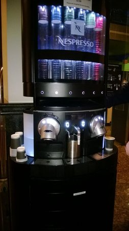 The York by Swiss-Belhotel: best coffee machine in the world!