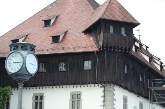 Hafen Konstanz: Construção típica alemã.... cuidado com o inverno!