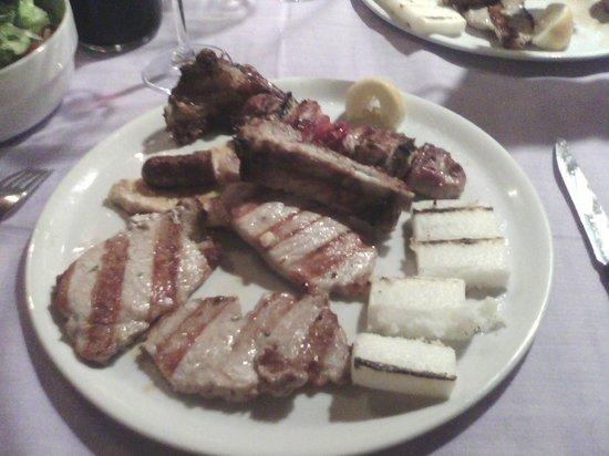 Alla Frasca: Grigliata di carne