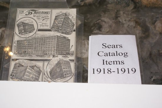 Castle Farms: Linda search and found many of the items on display  that were sold in the Sears Catelog.