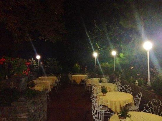 Villa Maria Luigia: Giardino esterno
