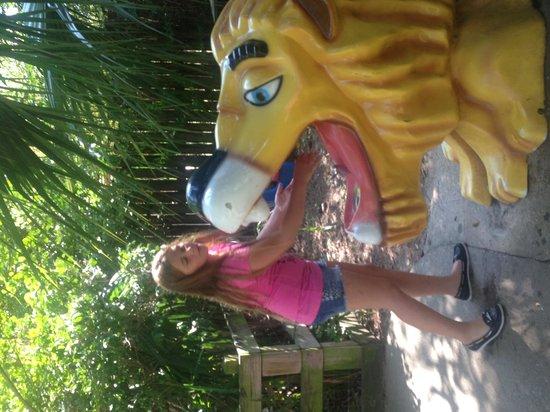 Ellen Trout Zoo: water fountain
