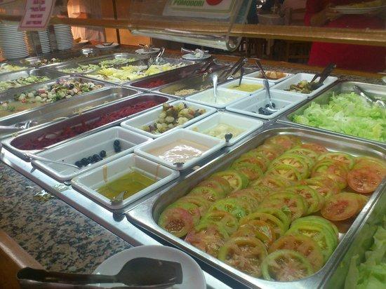 Hotel Arena Prado: Buffet1