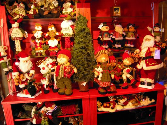 Adare's Old Creamery Gift Co.: Christmas room