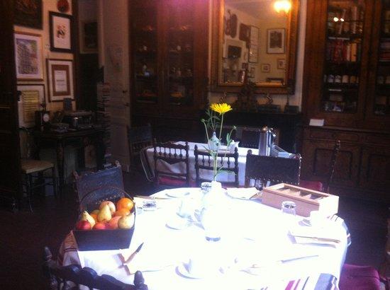 Villa St. Simon : The Breakfast Room