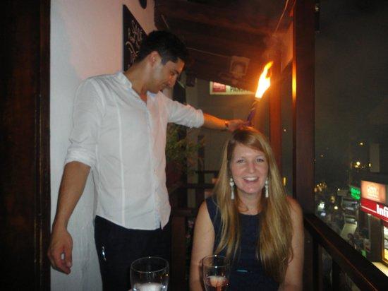 Sade Restaurant : Special Surprise!