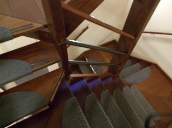 Hotel van Onna: stairs