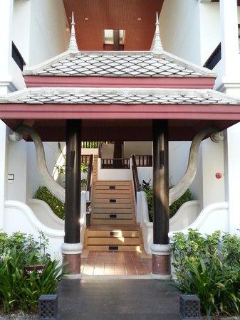 Novotel Samui Resort Chaweng Beach Kandaburi: Stairway to rooms