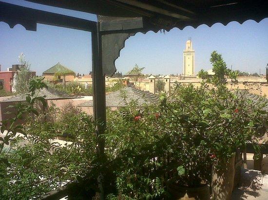 Riad Dar Darma: la terrazza sul tetto