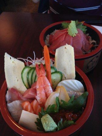 Yamagata Japanese Resturant: chirashi
