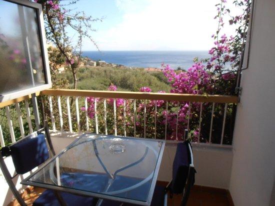 Hotel Pietracap: vue depuis notre chambre