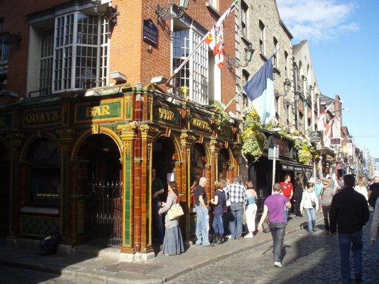 The Quays Temple Bar: Vista del exterior.