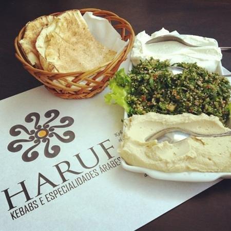 Haruf - Kebabs e Especialidades Arabes: salada Síria