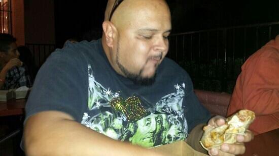 Tito's Tacos: big burritos