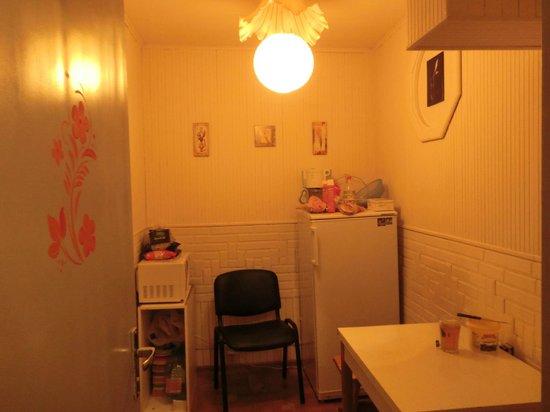 Hostel Yuriy Dolgorukiy: kitchen