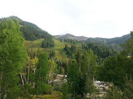 Lodge at Snowbird: View from hotel grounds
