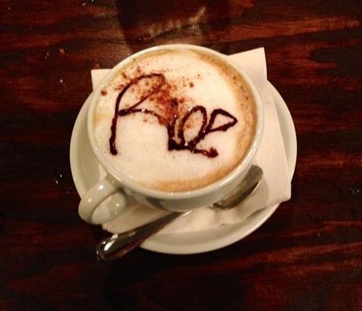 Rioz Brazilian Steakhouse: Cappuccino Rioz style