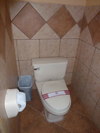 Imperio Machupicchu Hotel: Toilet (you were able to flush TP here)