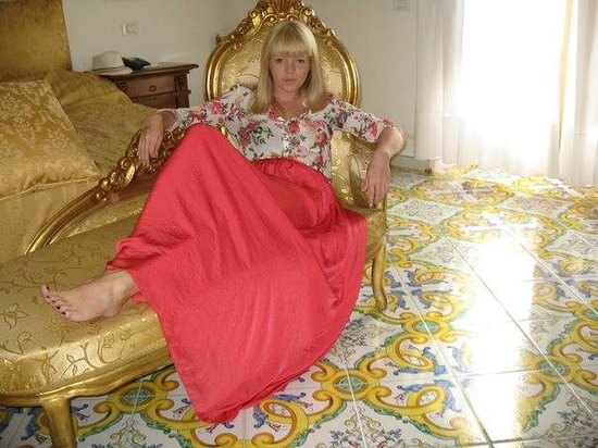 Hotel Conca d'Oro Positano: красивая мебель