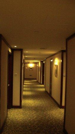 The Bund Hotel : corridoio