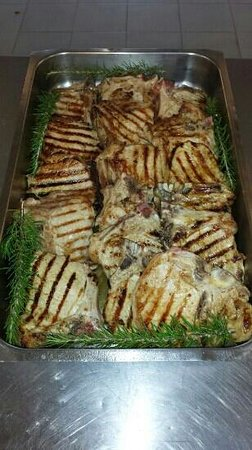 Hotel Solki: grigliata di carne