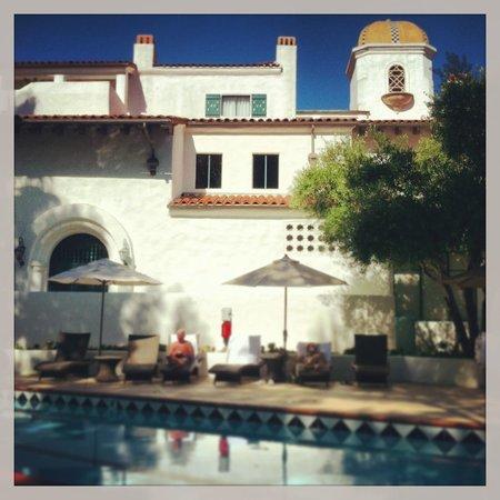 Ojai Valley Inn & Spa: The Spa Pool...very quiet