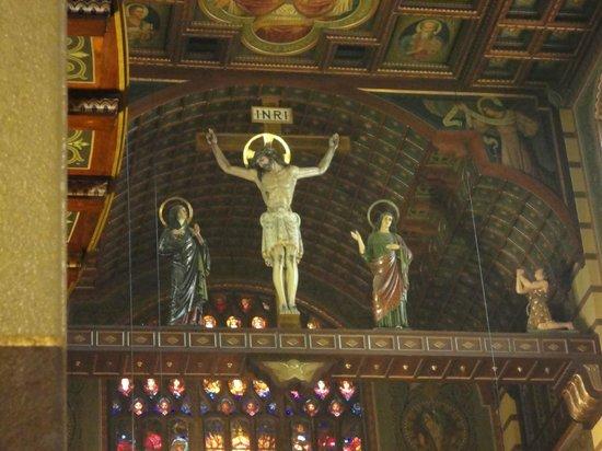 Mosteiro De Sao Bento: Sobre o altar