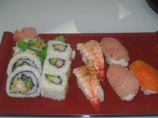 Sushi North: メニュー品