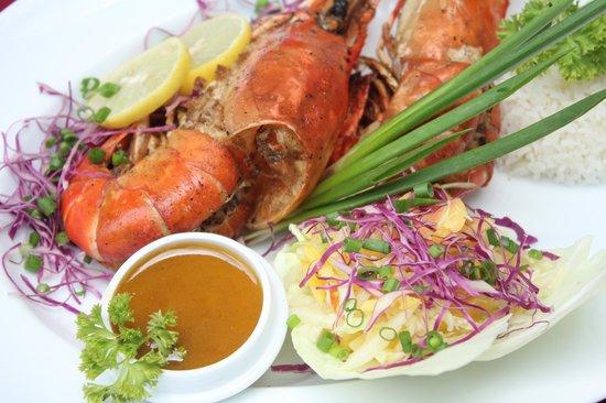 Saruketha: Grilled Jumbo Shrimp