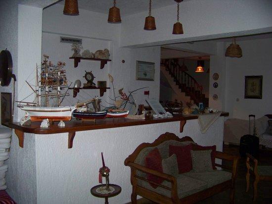 Hotel Panormos Beach Skopelos: recepcion