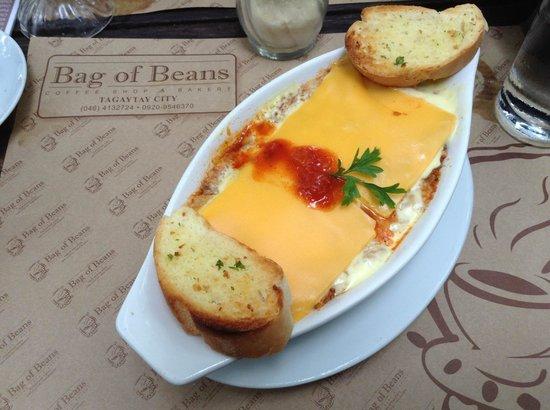 Bag of Beans Cafe and Restaurant : lasagna