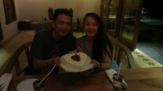 Sapulidi Bali Resort & Spa: Honeymoon treat