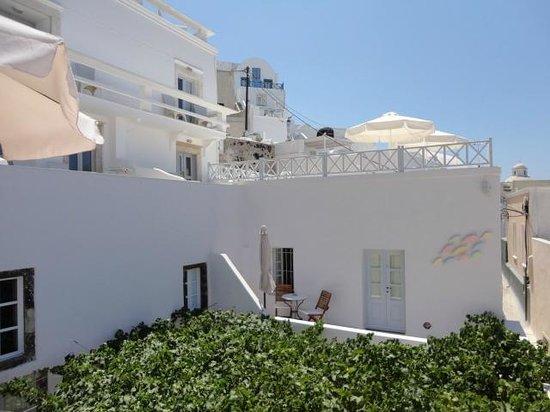 Cori Rigas Suites: Private Balcony