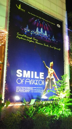 Smile of Angkor: I was looking forward to viewing the entire show ?????
