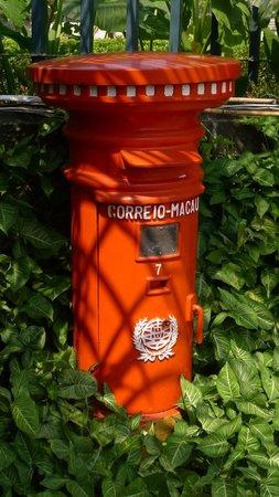 Old style mailbox at Casa Garden
