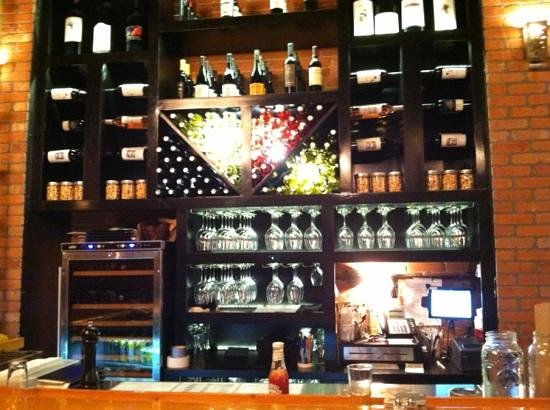 El Moro Spirits & Tavern : 1/3 of a well stocked bar