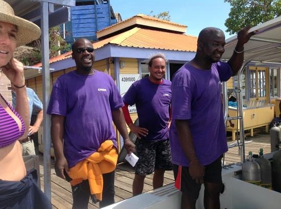 Aquanauts Grenada : No finer drive crew than these guys... thank you!!!!!