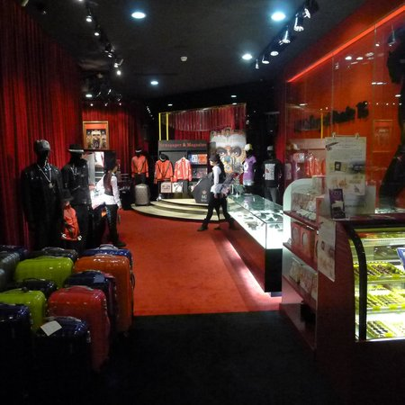 Giftshop at The Michael Jackson Gallery