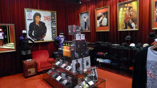 The Michael Jackson Gallery: MJ Gallery Gift Shop in Sofitel Macau