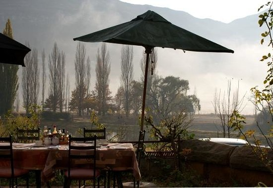 Lake Clarens Guest House : Breakfast terrace