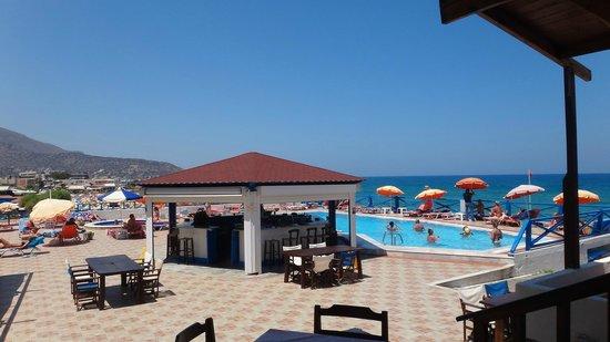 Christiana Beach Hotel : Бассейн