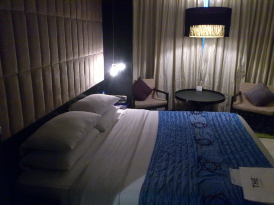 客室の写真です。清潔でベッドの寝心地もいいです。