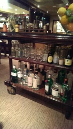 Simon Radley at The Chester Grosvenor: 23 Gin and tonics.