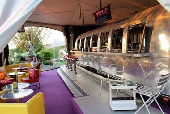Belrepayre Airstream & Retro Trailer Park: The Apollo Lounge