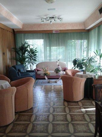 Hotel Tre Stelle : Saletta