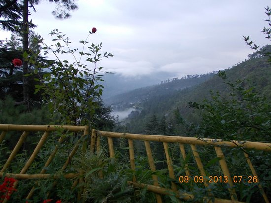 Deodar's Guest House: View from the Cottage