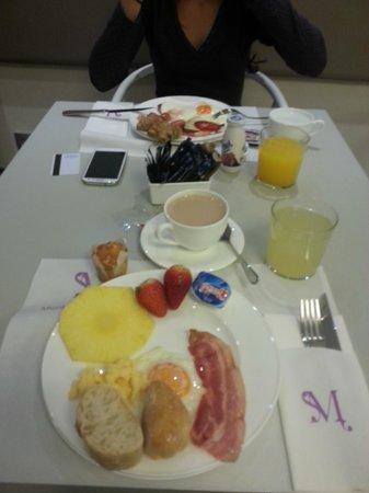 Musik Boutique Hotel: Breakfast