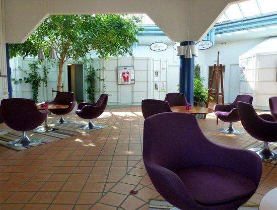 Hotel Hillerod: Lounge area