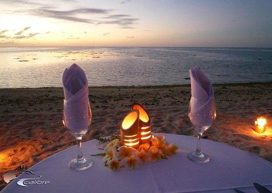 Tamanu Beach Resort: Romantic setting